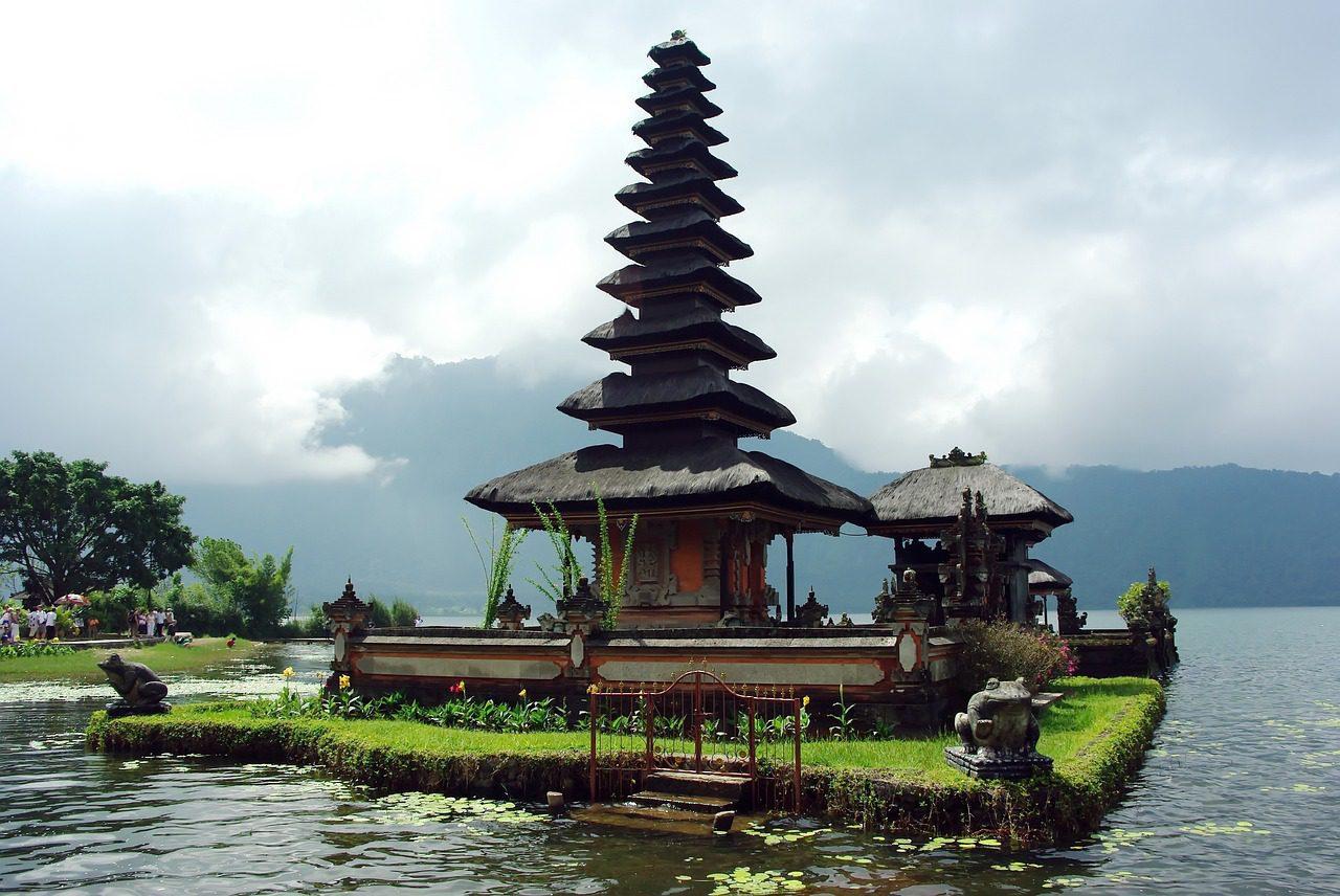La beauté de l'île de Bali