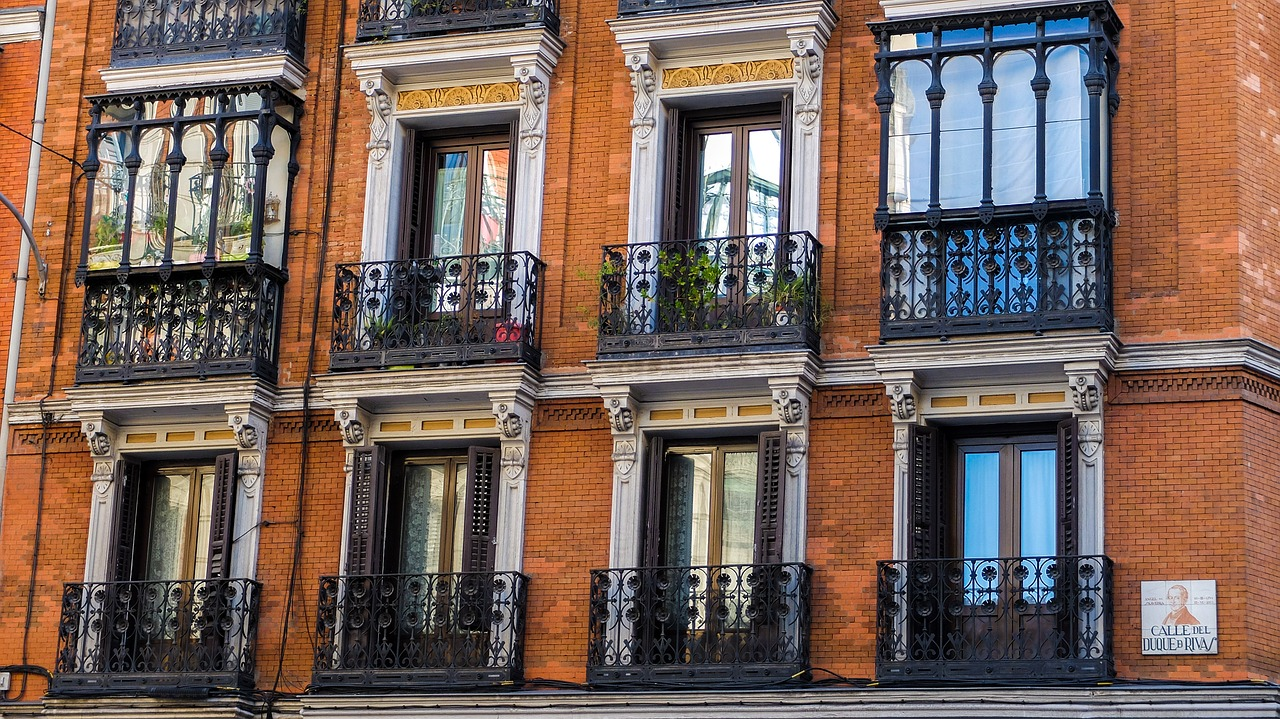 Belle architecture de Madrid