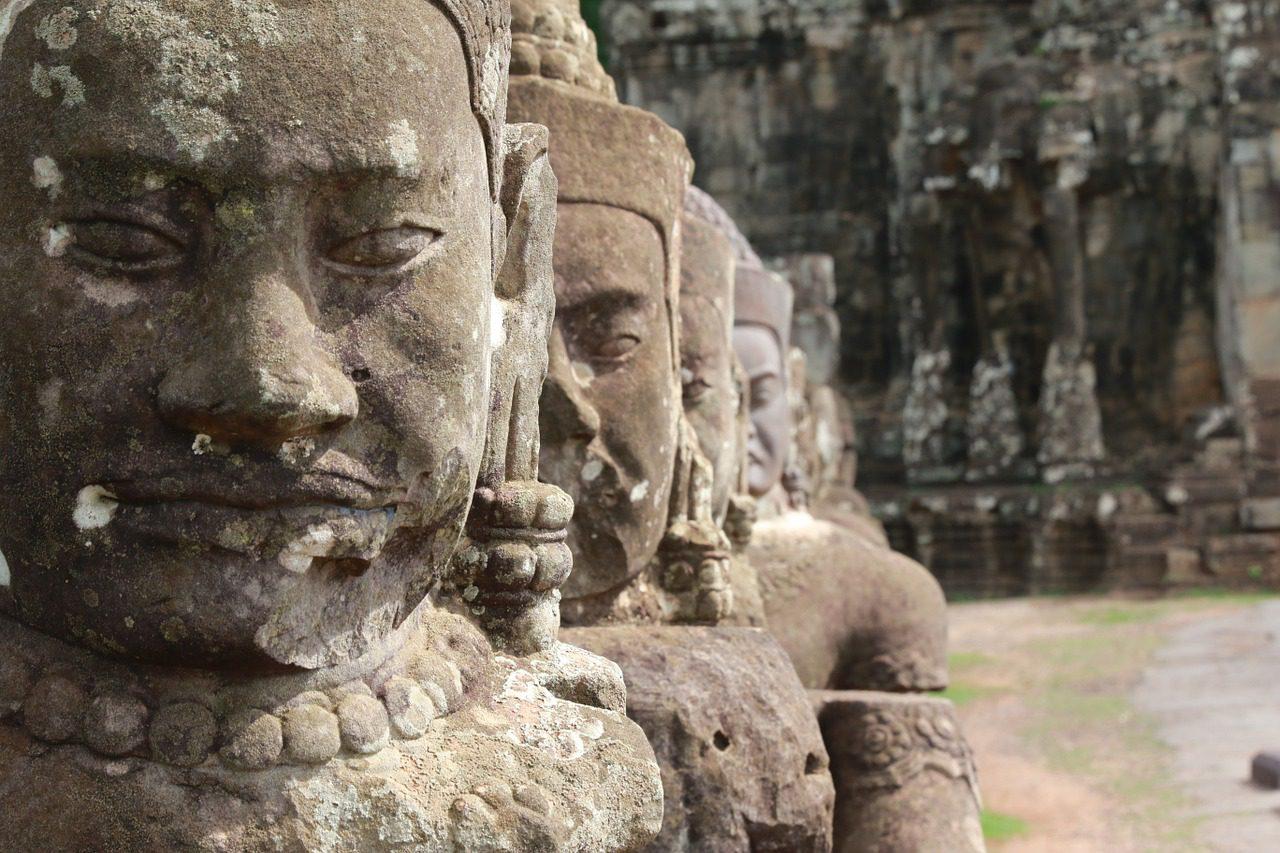 La scène urbaine du Cambodge