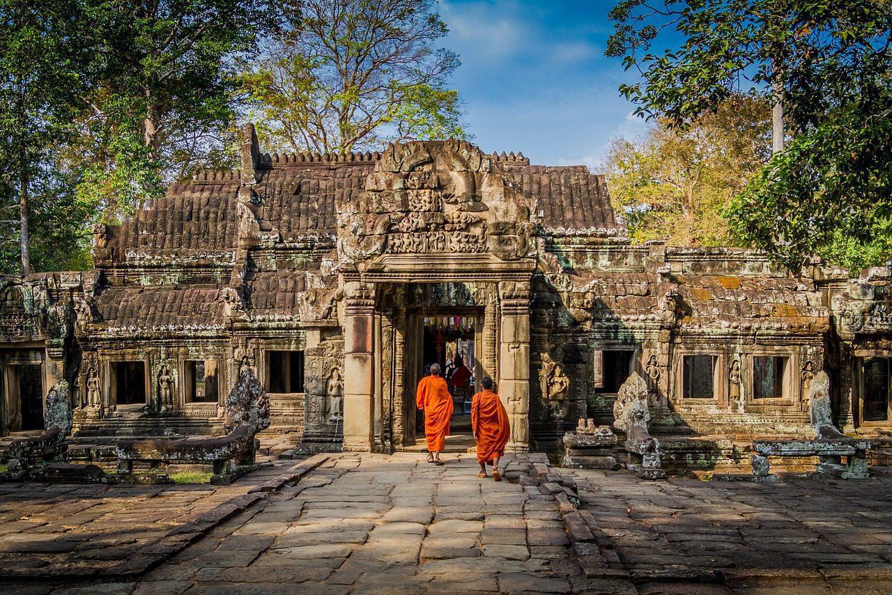 Un empire de temples du Cambodge