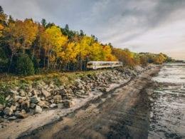 La vie à bord du Train de Charlevoix