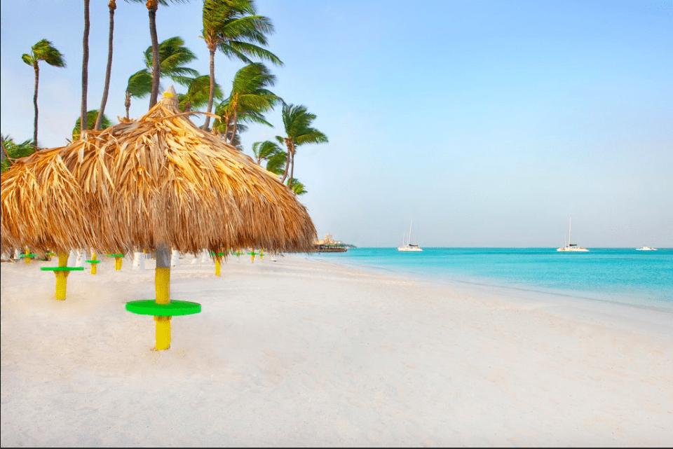 Les 6 plus belles plages d'Aruba