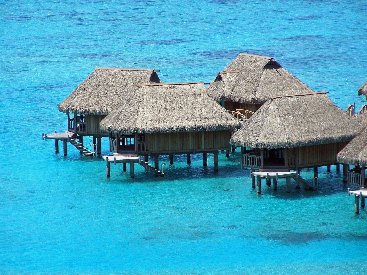 Lagoon spectaculaire de la Polynésie française