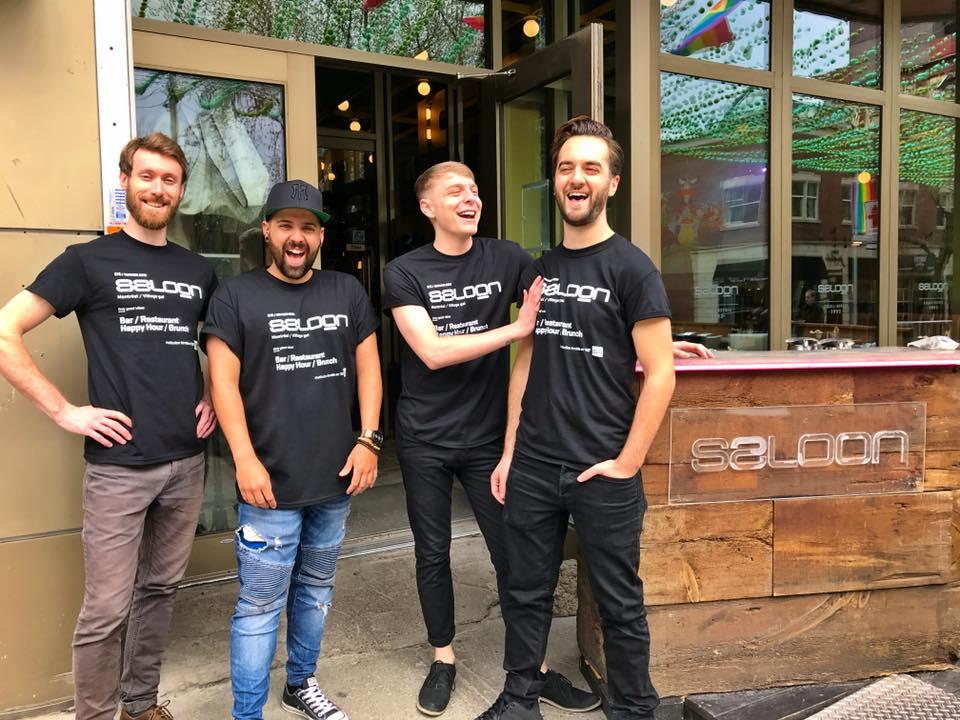 Le Saloon Bistro Bar de Montréal