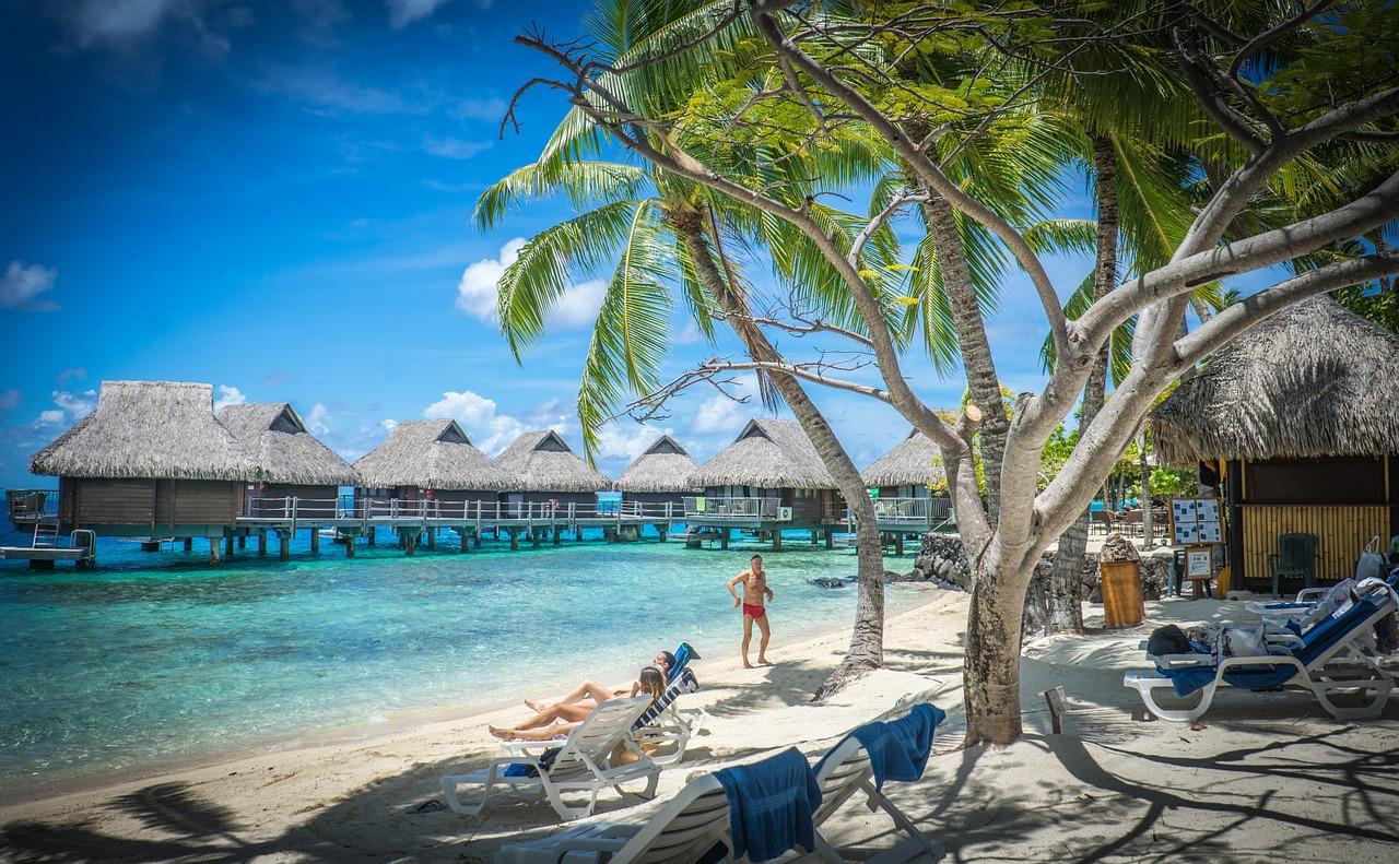 Le rêve des voyageurs d'aller en Polynésie française