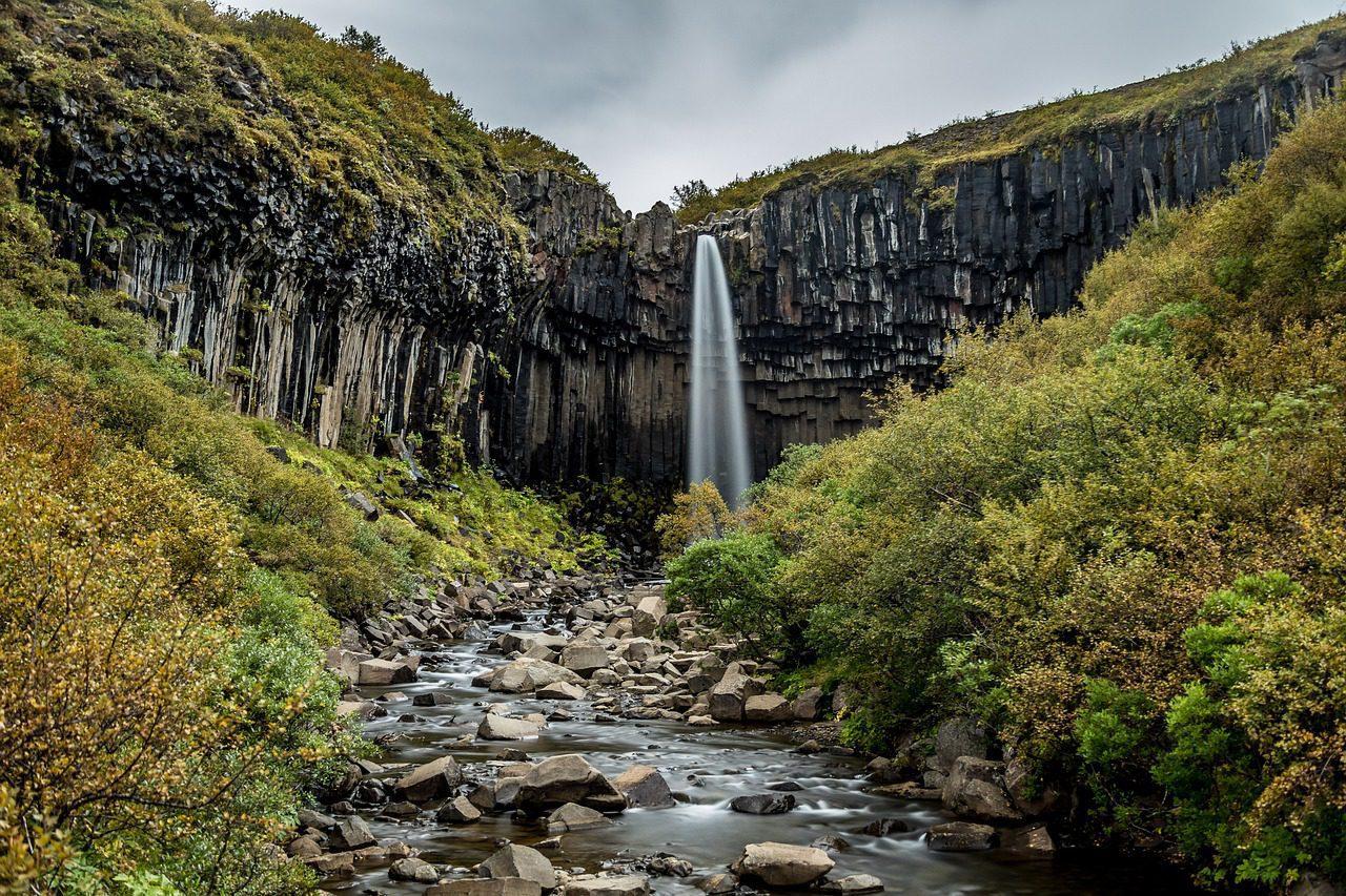 Les grands espaces de Reykjavik