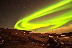 Lumières de la ville en Finlande