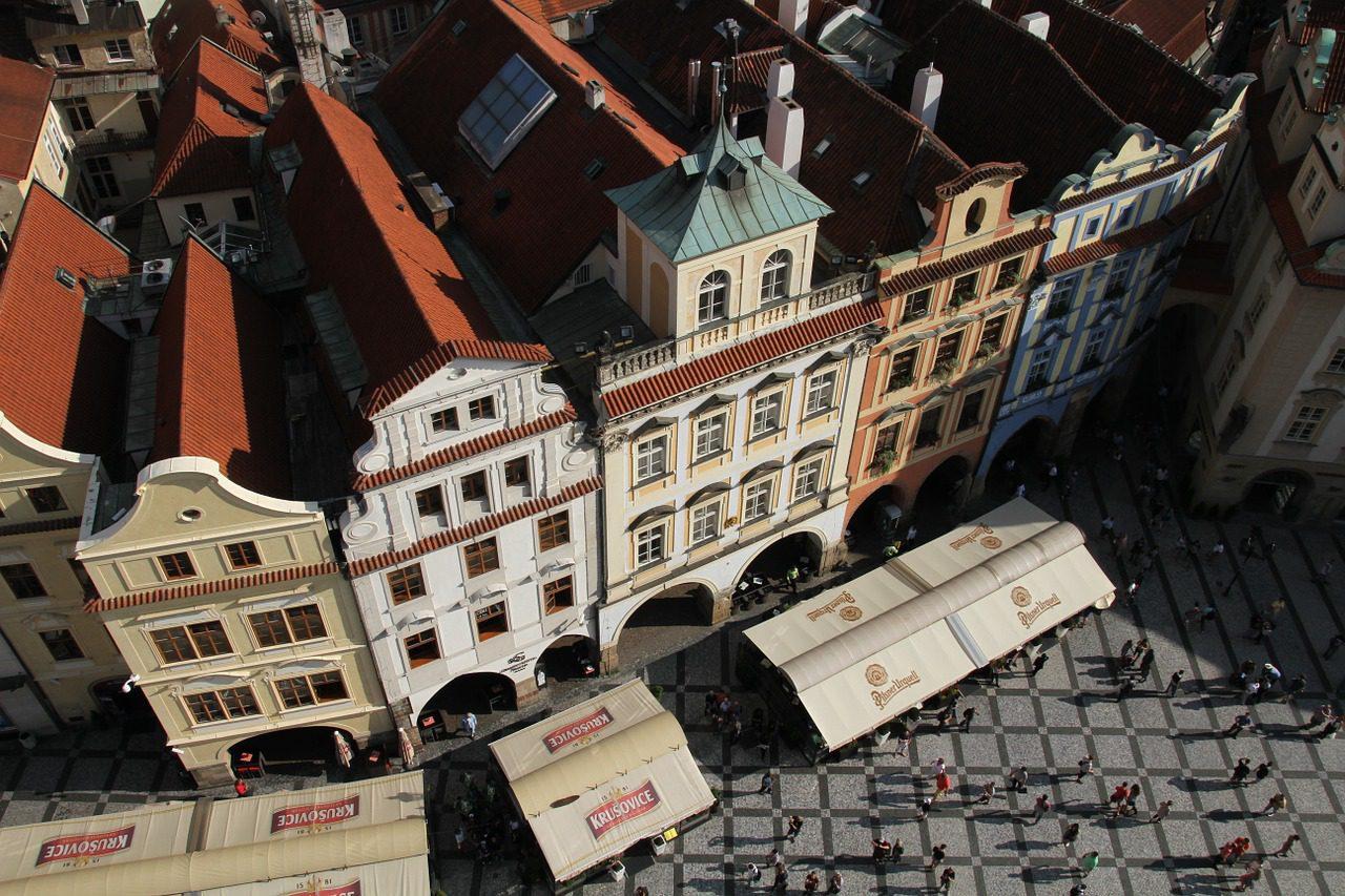 Où la bière est Dieu à Prague