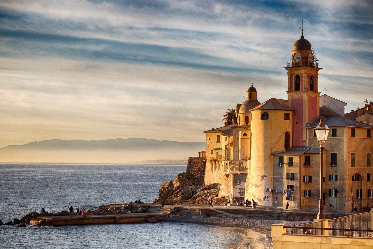 Paysages spectaculaires de l'Italie