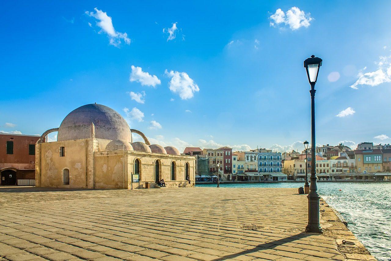 Riche tapisserie historique de Crète