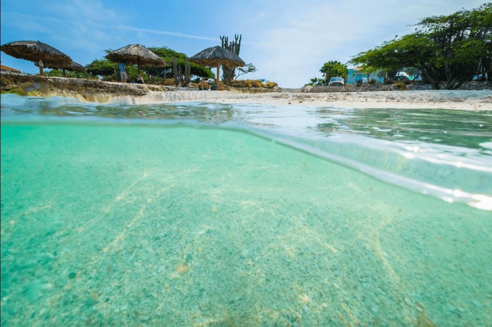 Plage de Boca Catalina à Aruba