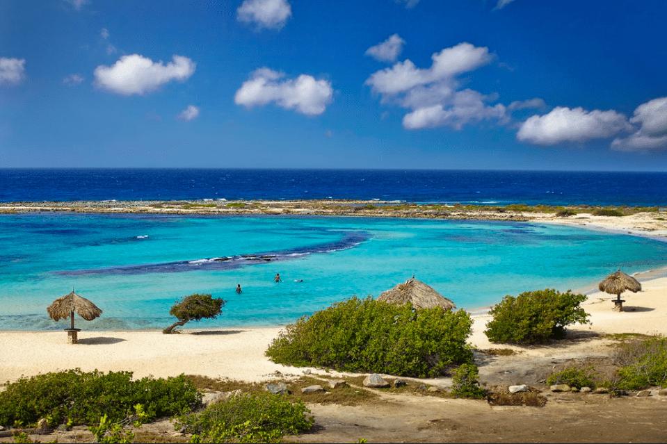 Plage de Baby Beach à Aruba