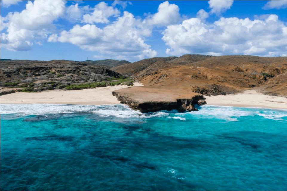 Plage de Dos Playa Beach à Aruba