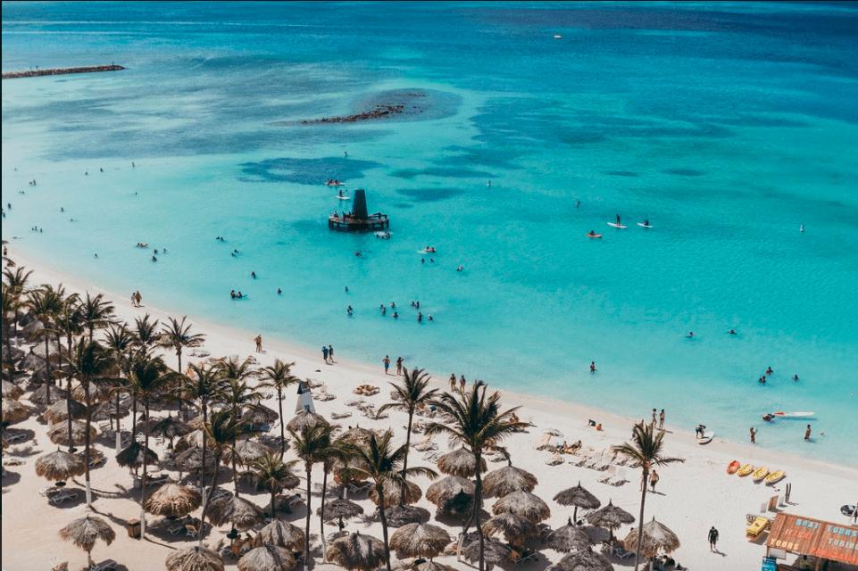Les plages d'Aruba