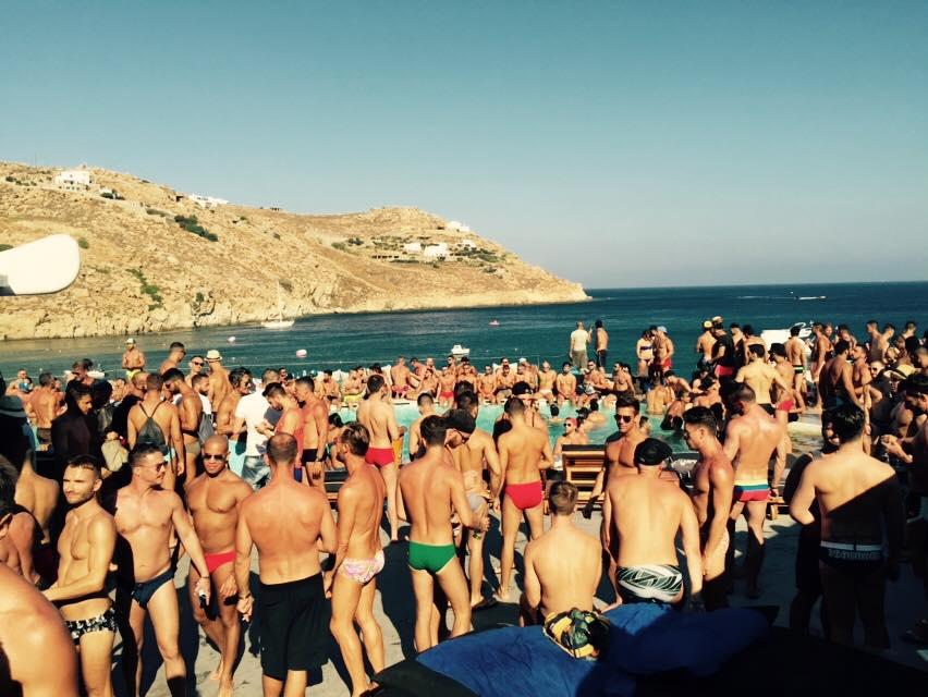 Les meilleures plages gay de Mykonos