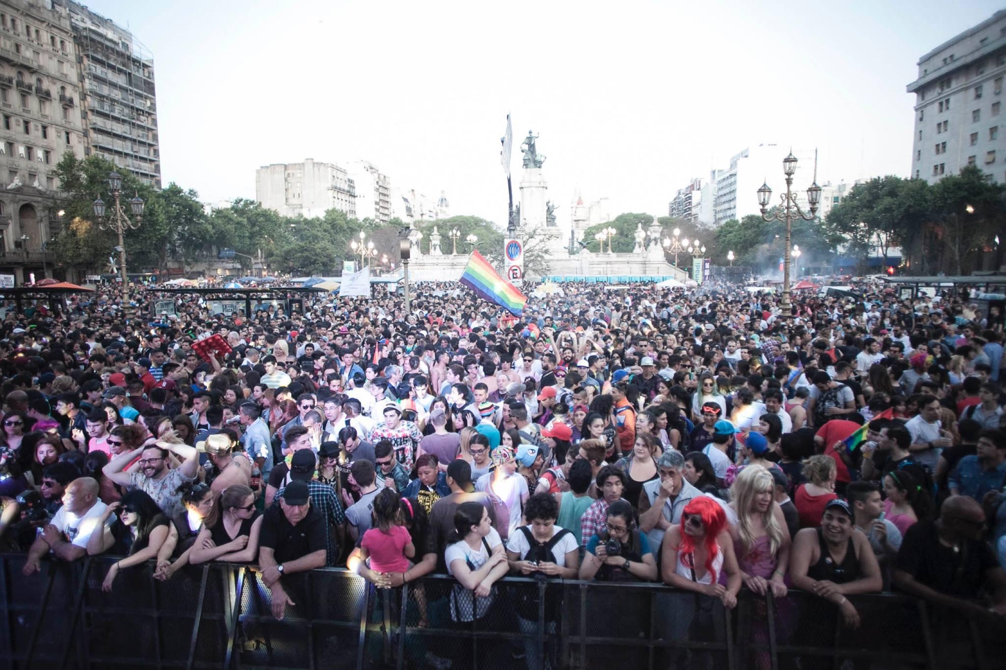 Gay pride en Argentine