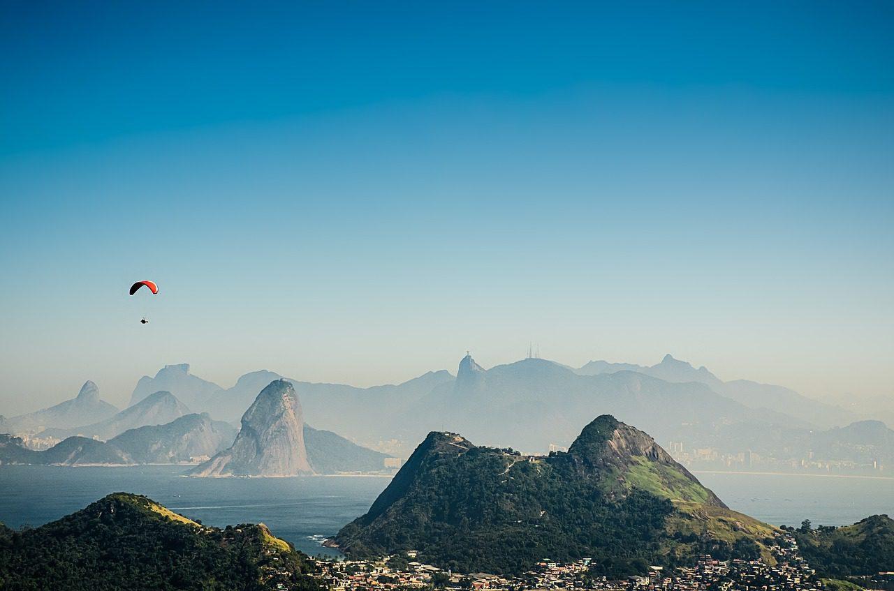 Paysages tropicaux de Rio de Janeiro