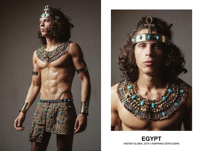 Mister Global : Égypte