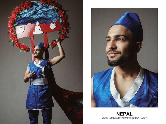 Mister Global : Népal