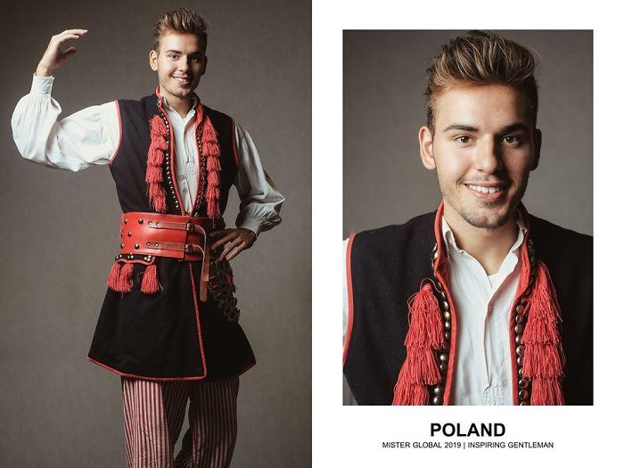 Mister Global : Pologne