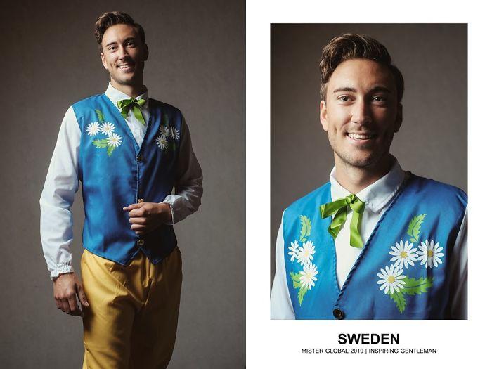 Mister Global : Suède