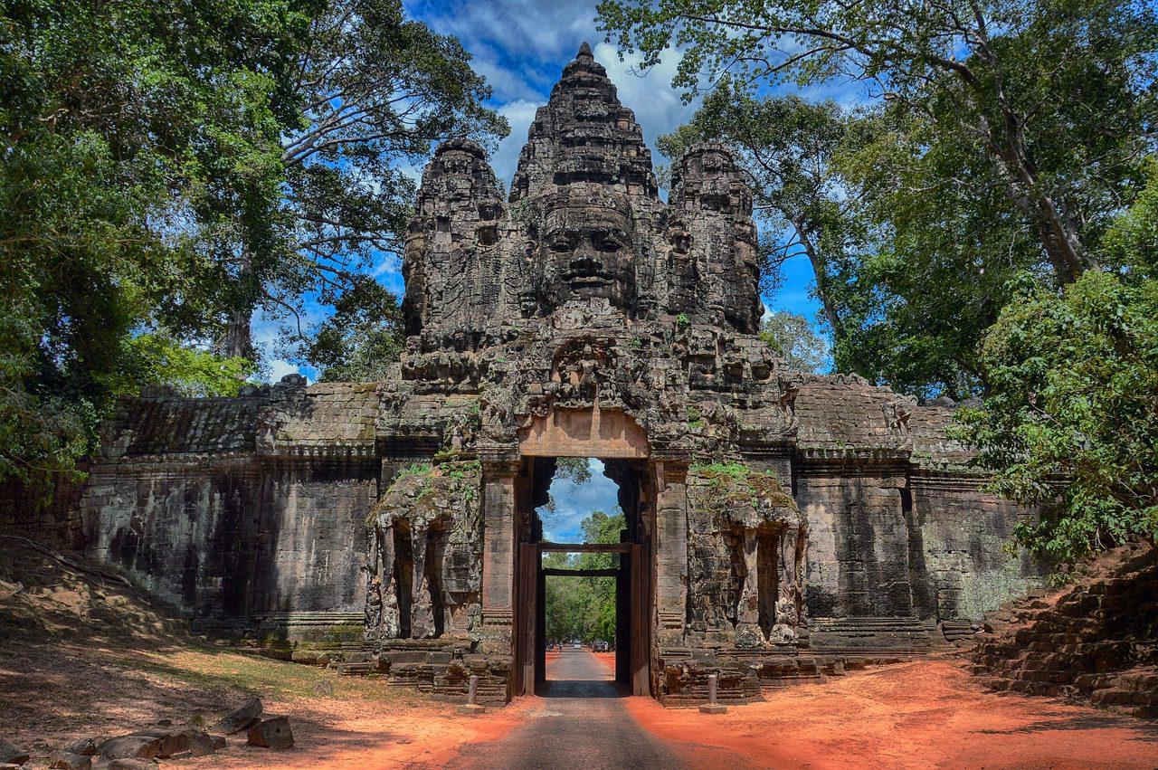 L'histoire des temples d'Angkor