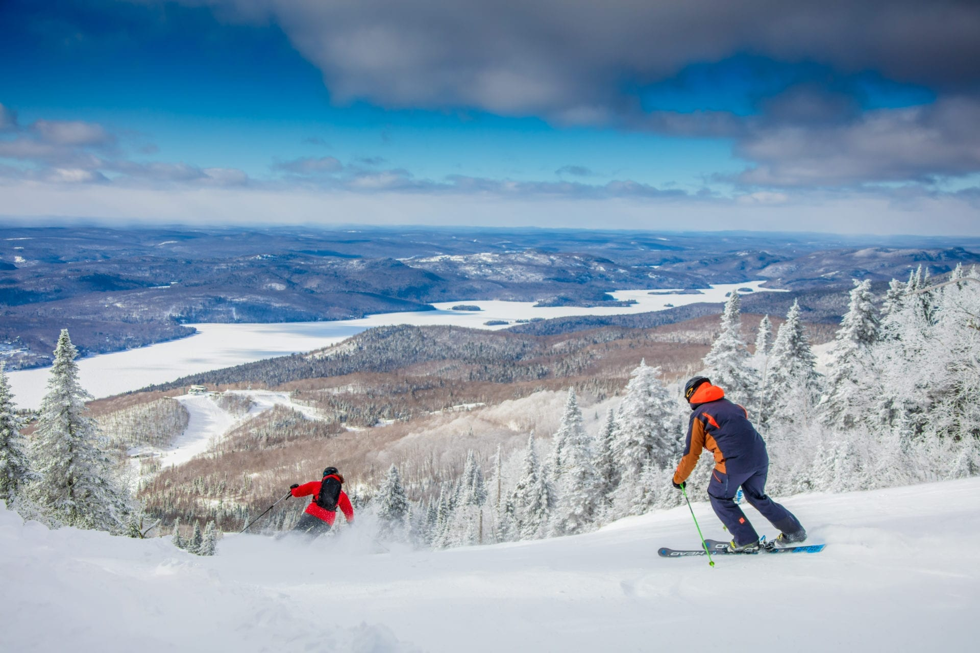 Faire du ski au Mont-Tremblant
