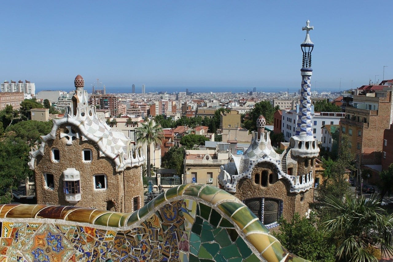 Parc Guell - Gaudi Barcelone
