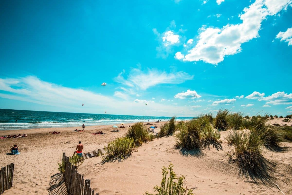 Les plages près de Montpellier