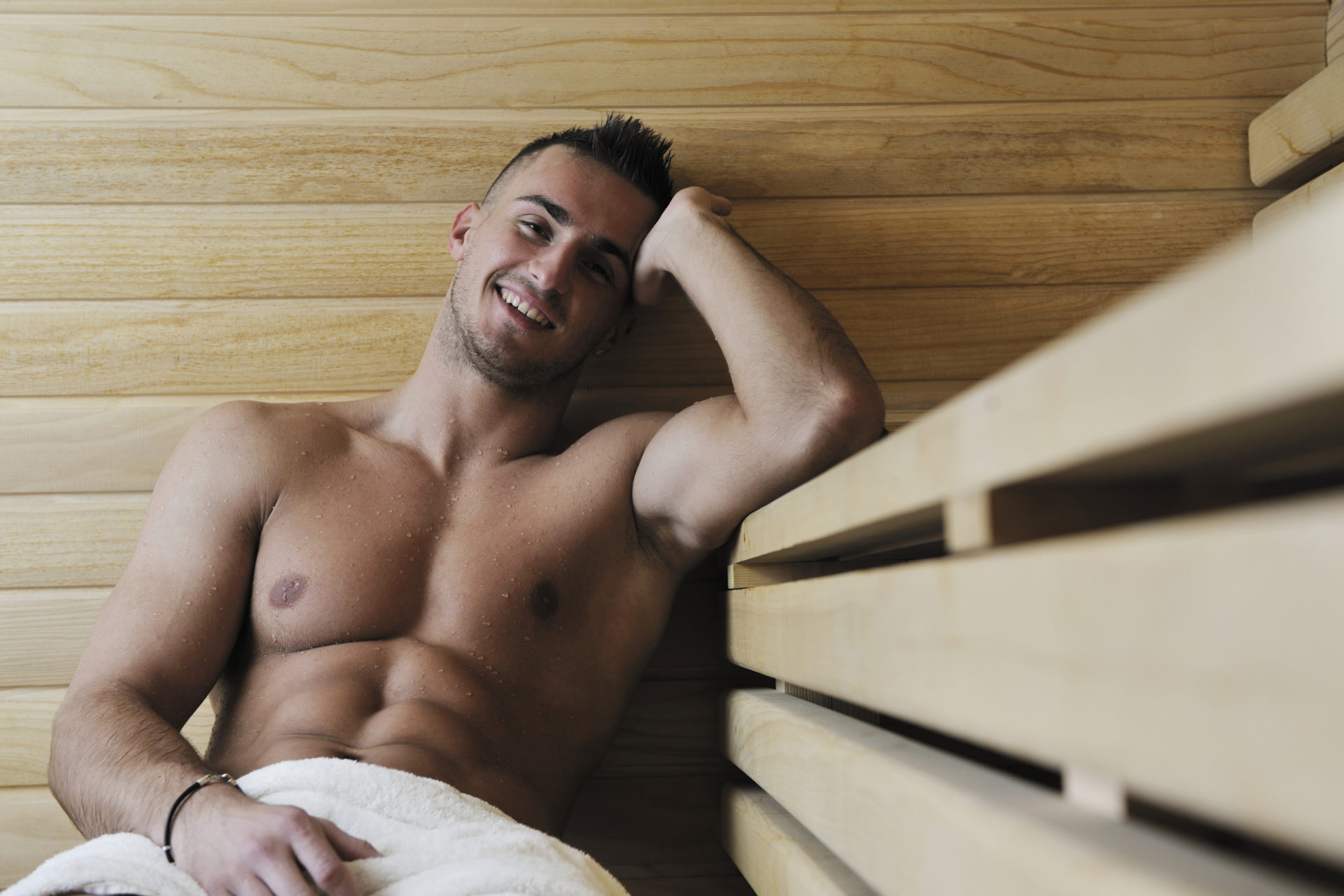Décongeler dans un sauna finlandais