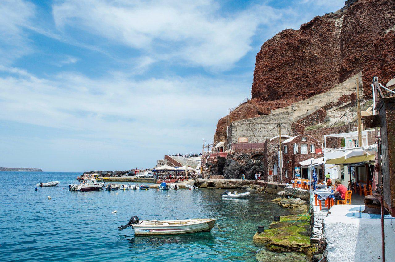 Visite desîles grecques à bord d'une croisière