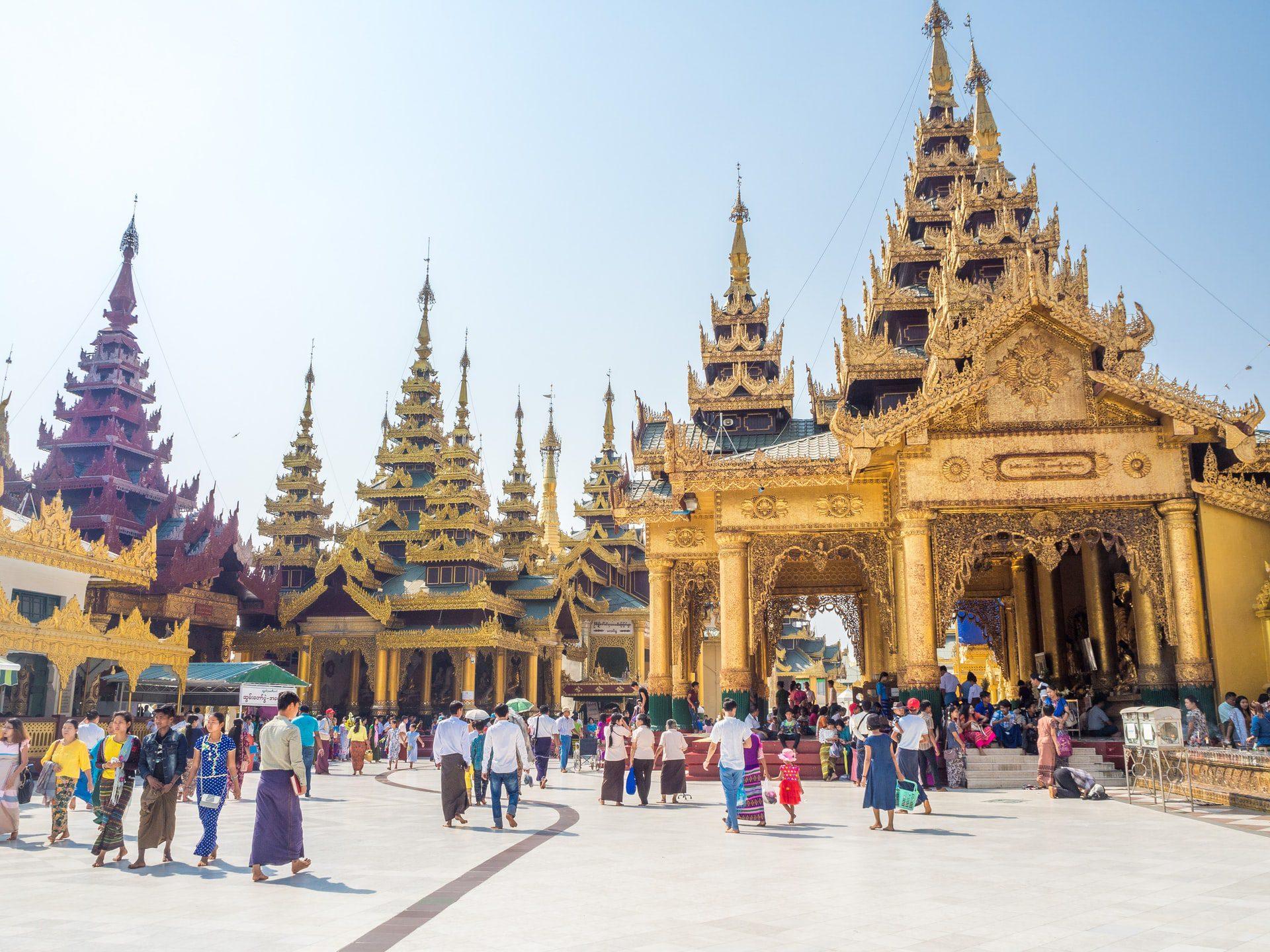 L'histoire du temple de Shwedagon