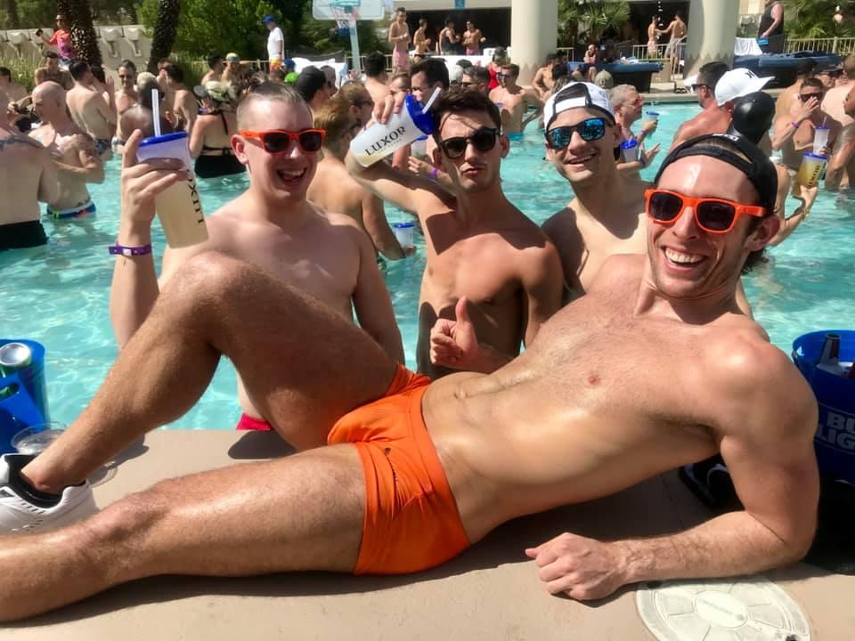 La pool party gay de Las Vegas