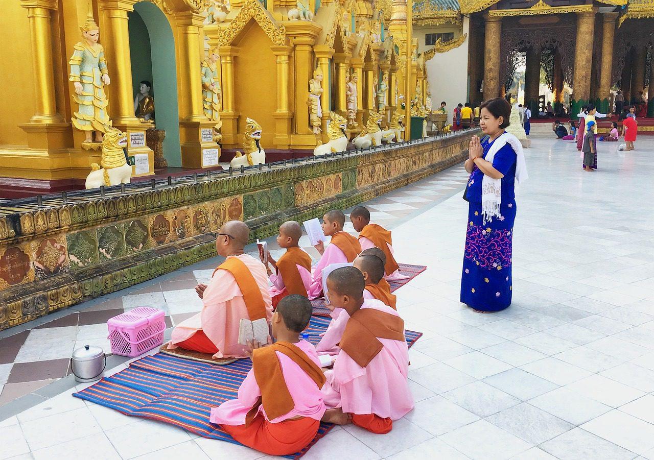 La vie spirituelle des Birmans