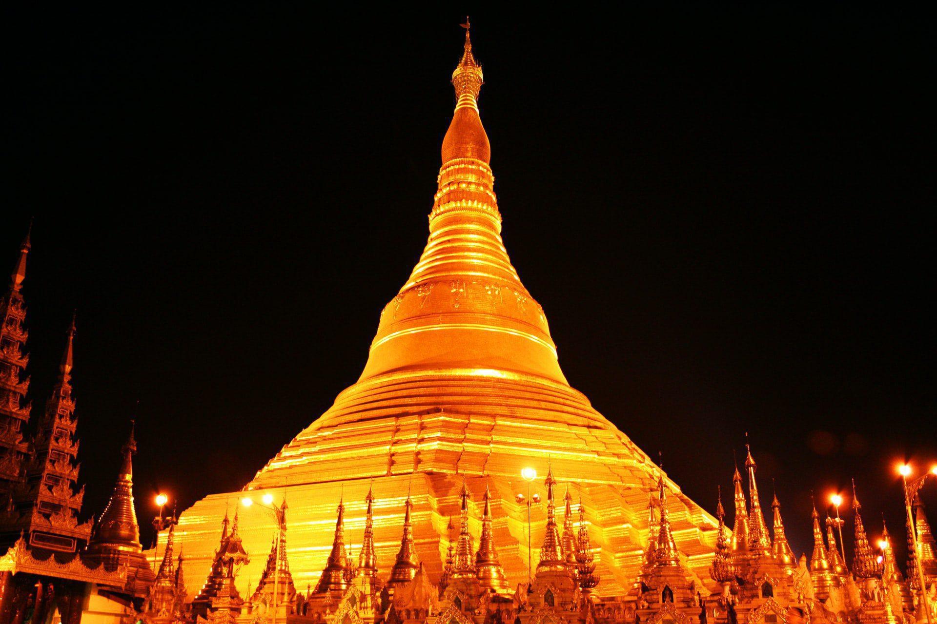 Le pagode de soir