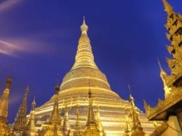 La pagode Shwedagon de Yangon