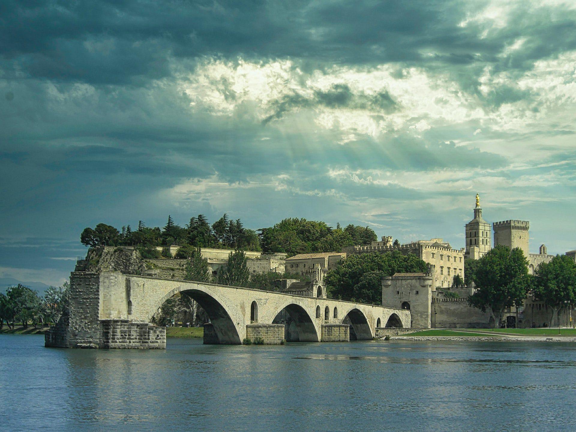 Visite d'Avignon