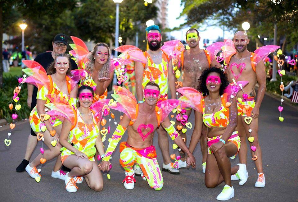 La marche de la fierté gay de Sydney