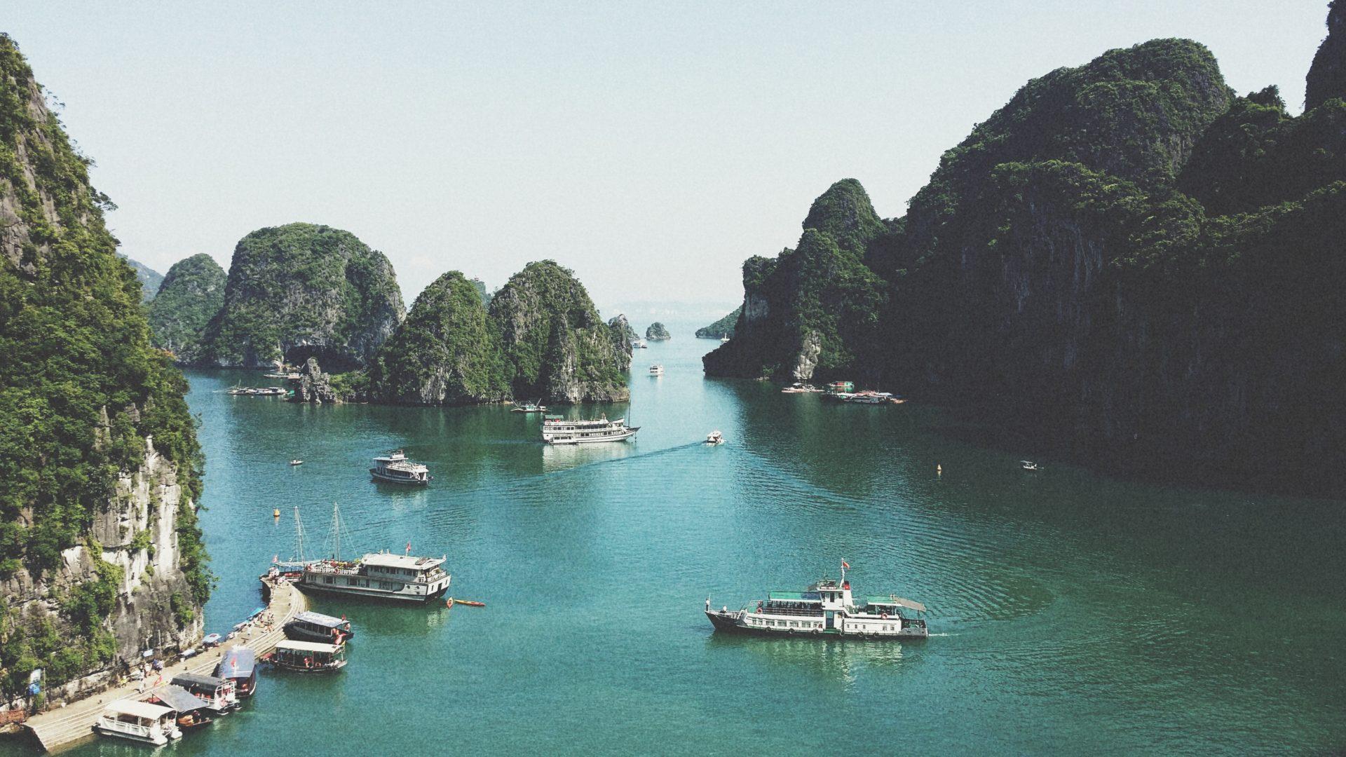 Une croisière sur la baie d'Halong