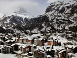 Faire du ski à Zermatt