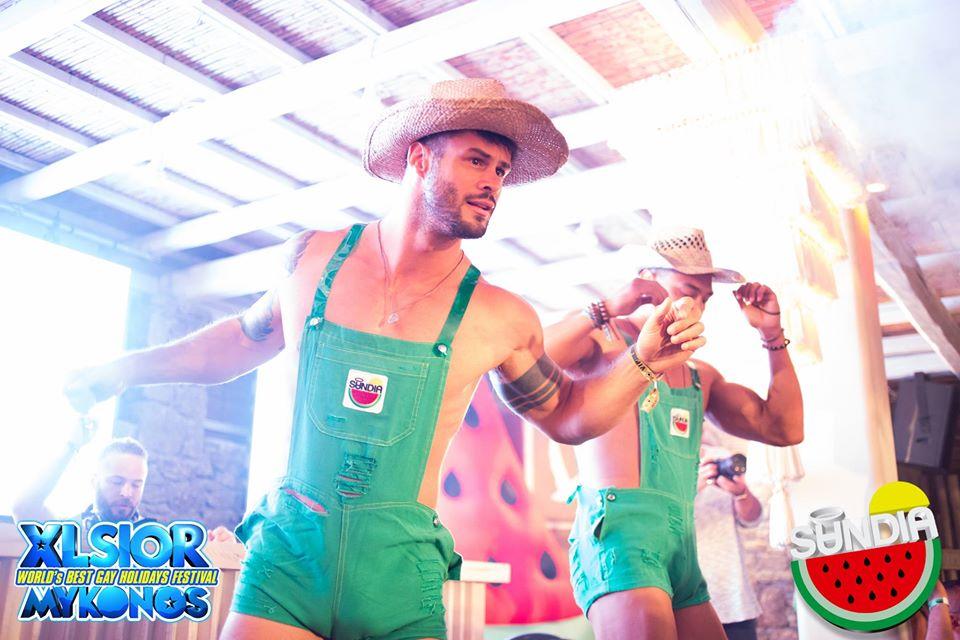 Plage gay de Mykonos