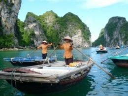Une visite sur la baie d'Halong