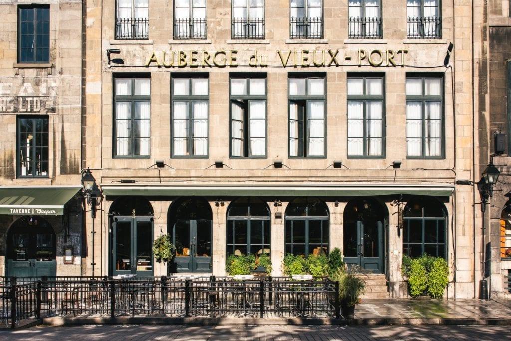 Auberge du Vieux-Port Montréal