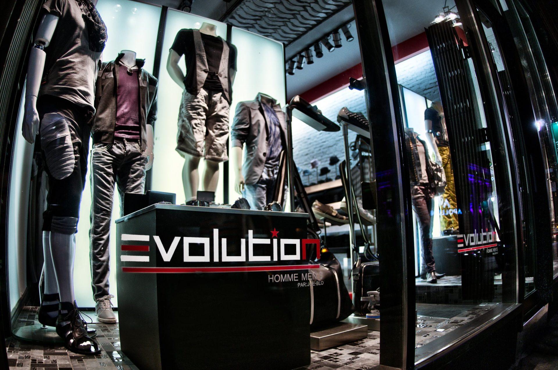 Boutique Evolution Homme par Joe-Blo Montréal