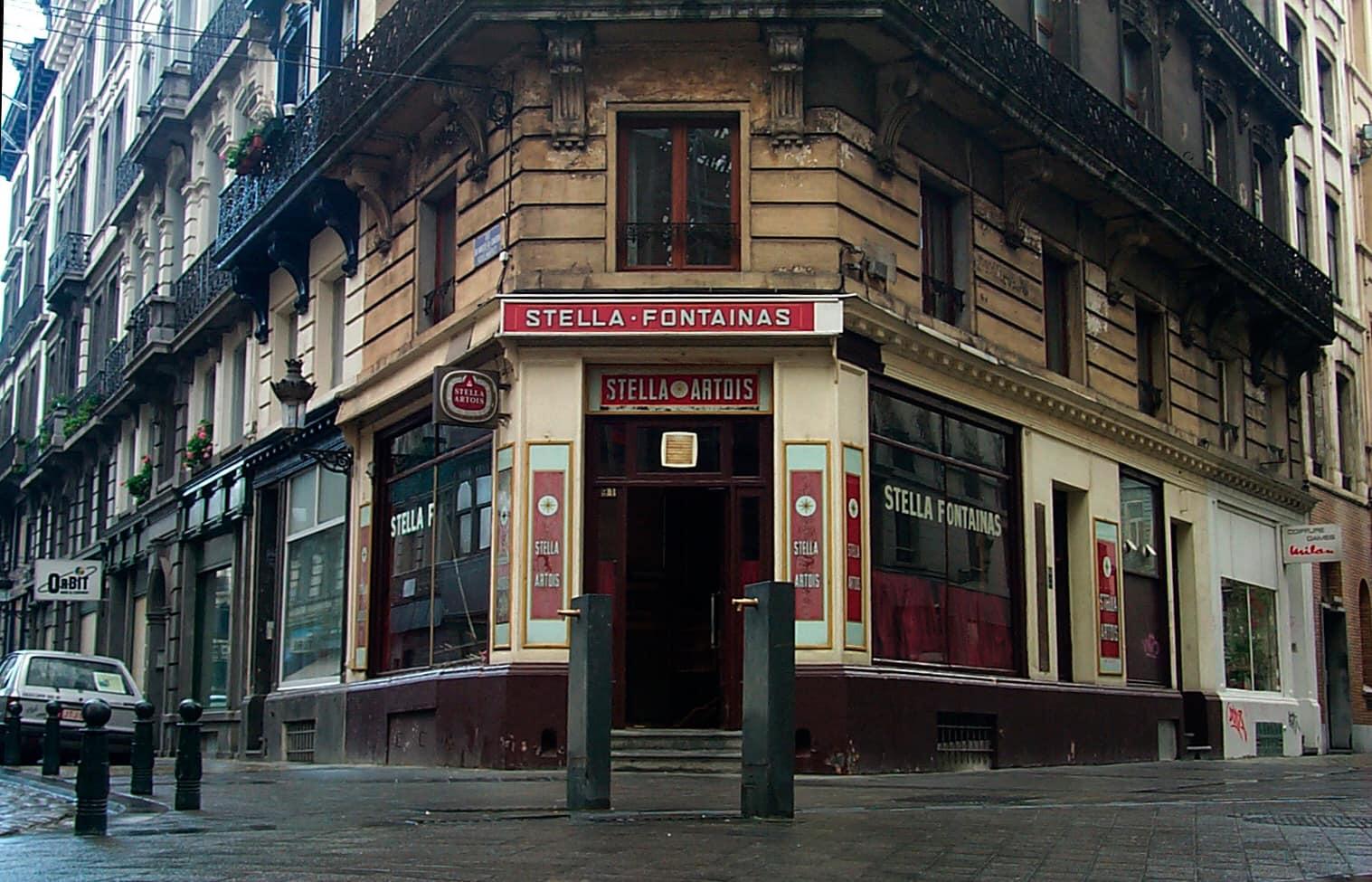 Café Le Fontainas Bruxelles