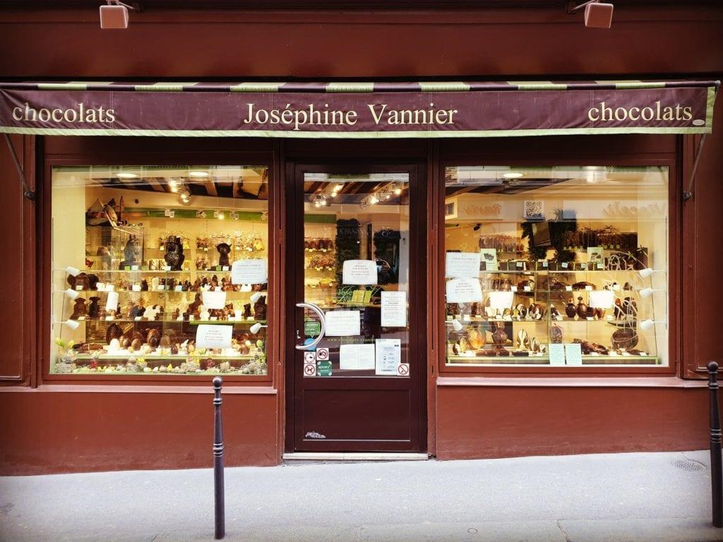 Chocolaterie Joséphine Vannier Paris