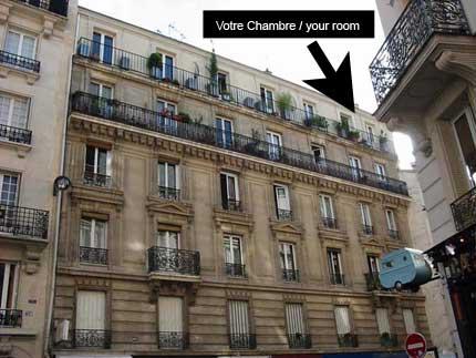 Gay Bed & Breakfast Paris
