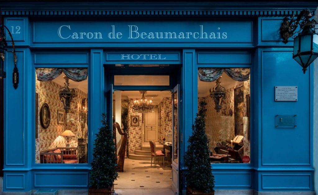 Hôtel Caron de Beaumarchais Paris Marais