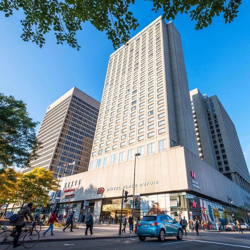Hôtel Place Dupuis Gouverneur Montréal