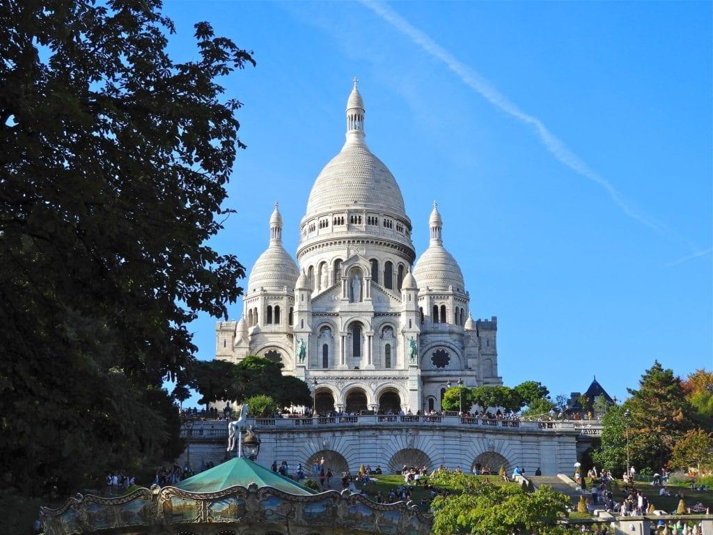 La Basilique du Sacre-Coeur de Paris